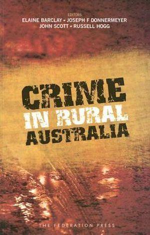 Cover of Crime in Rural Australia
