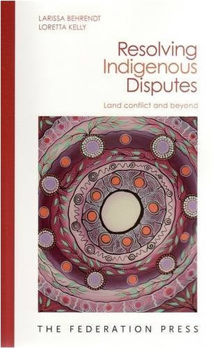 Cover of Resolving Indigenous Disputes