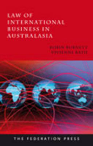 Cover of Law of International Business in Australasia