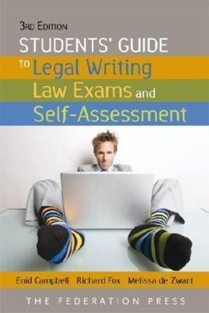 Cover of Students' Guide to Legal Writing and Law Exams