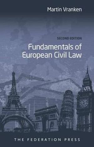 Cover of Fundamentals of European Civil Law