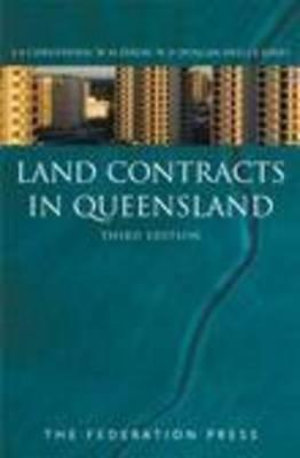 Cover of Land Contracts in Queensland
