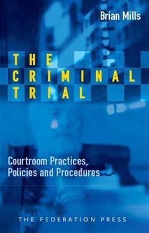 Cover of The Criminal Trial