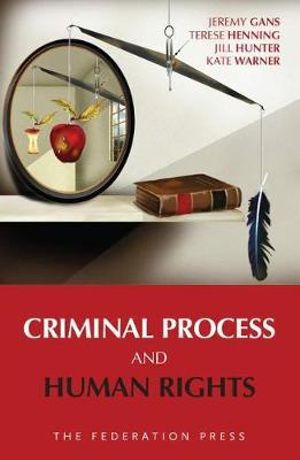 Cover of Criminal Process and Human Rights