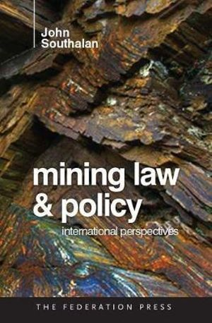Cover of Mining Law and Policy