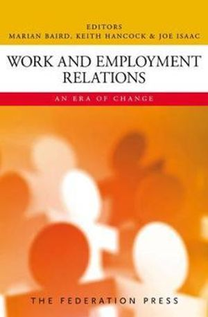 Cover of Work and Employment Relations