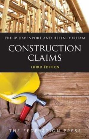 Cover of Construction Claims