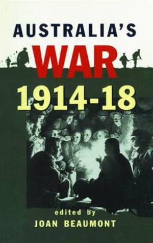 Cover of Australia's War, 1914-1918
