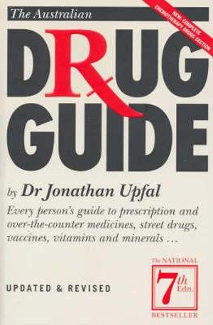 Cover of Australian Drug Guide 7th Edition The