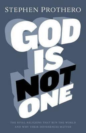Cover of God Is Not One