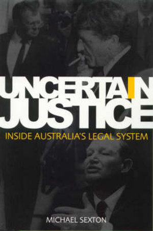 Cover of Uncertain Justice