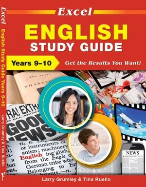 Cover of Excel Years 9 & 10 English