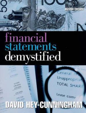 Cover of Financial Statements Demystified