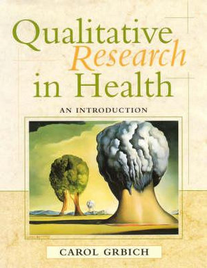 Cover of Qualitative Research in Health An introduction