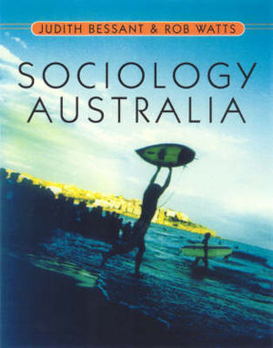 Cover of Sociology Australia