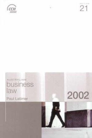 Cover of 2002 Australian Business Law