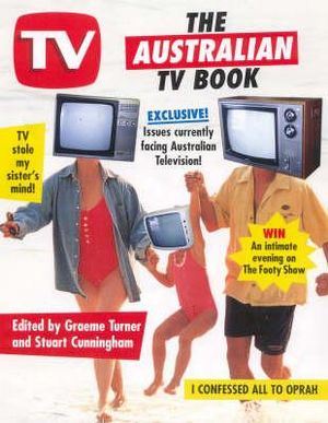 Cover of The Australian TV Book