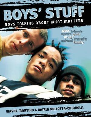 Cover of Boys' Stuff Boys talking about what matters