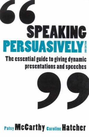 Cover of Speaking Persuasively