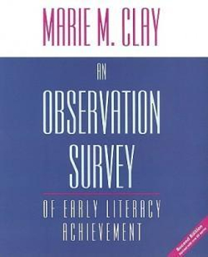 Cover of An observation survey of early literacy achievement