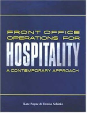 Cover of Front Office Operations for Hospitality