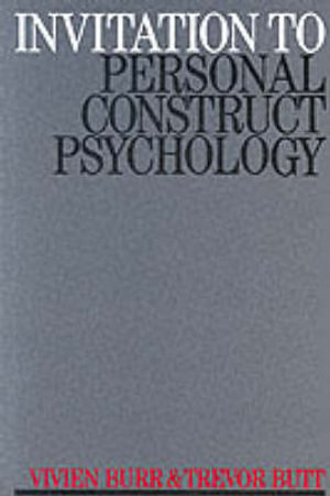 Cover of Invitation to Personal Construct Psychology