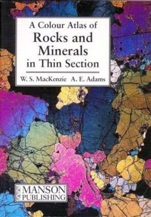 Cover of A color atlas of rocks and minerals in thin section