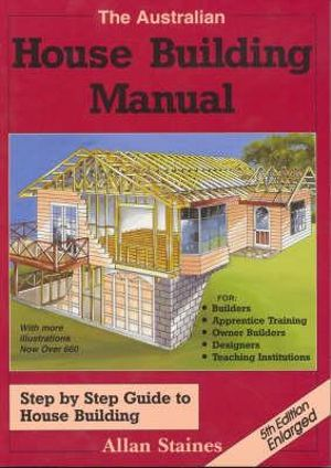 Cover of The Australian House Building Manual