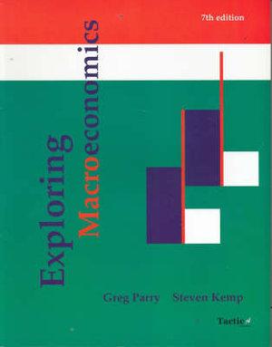 Cover of Exploring Macroeconomics