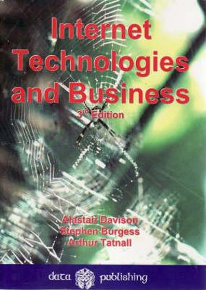 Cover of Internet Technologies and Business