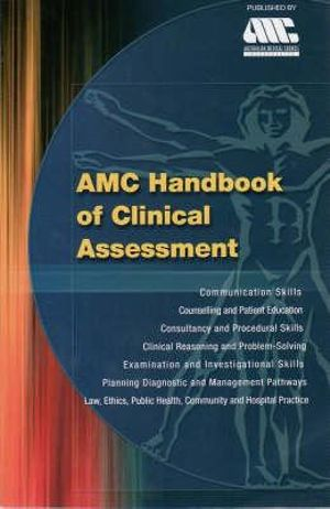 Cover of AMC Handbook of Clinical Assessment