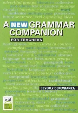 Cover of A New Grammar Companion for  Teachers