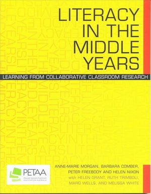 Cover of Literacy in the Middle Years
