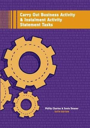 Cover of Carry Out Business Activity & Instalment Activity