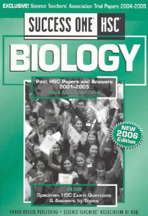 Cover of Success One HSC Biology