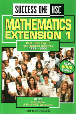 Cover of Success One HSC Mathematics Extension 1