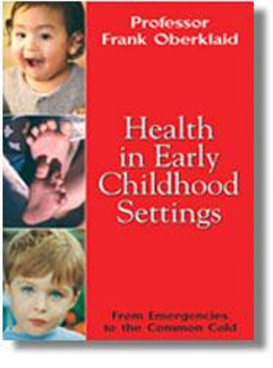 Cover of Health in Early Childhood Settings