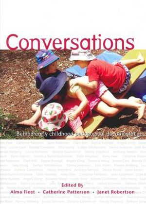 Cover of Conversations Behind Early Childhood Pedagogical Documentation