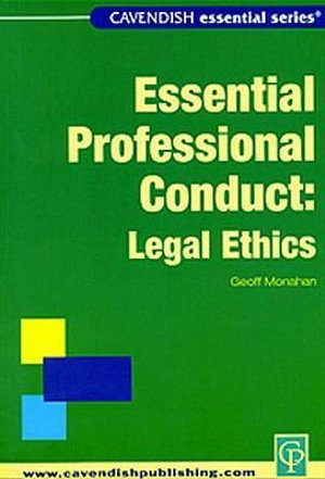Cover of Legal Ethics