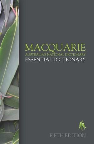 Cover of Macquarie Essential Dictionary