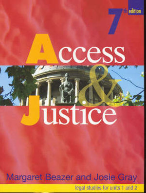 Cover of Access and Justice