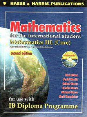 Cover of Mathematics for the International Student