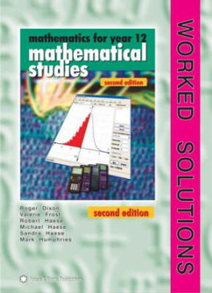 Cover of Mathematics for Year 12