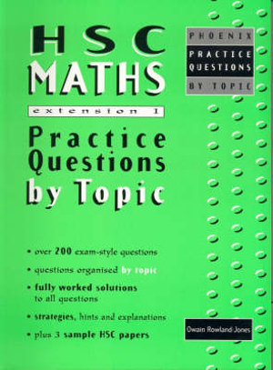 Cover of HSC Maths Extension 1
