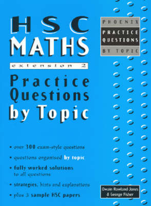 Cover of HSC Maths Extension 2