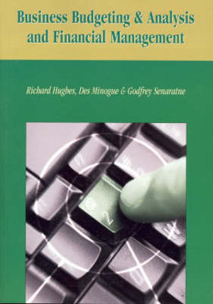 Cover of Business Budgeting and Analysis and Financial Management