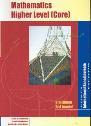 Cover of Mathematics higher level (core)