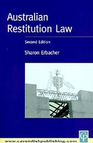 Cover of Australian Restitution Law
