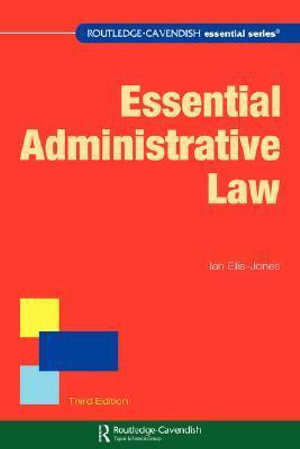 Cover of Essential Administrative Law