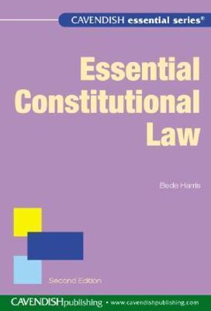 Cover of Essential Constitutional Law